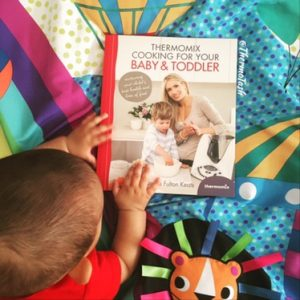 Thermomix cooking for baby and toddler cookbook