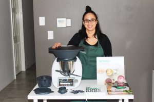 Thermomix Perth Consultant set up for a TM6 Cooking Experience